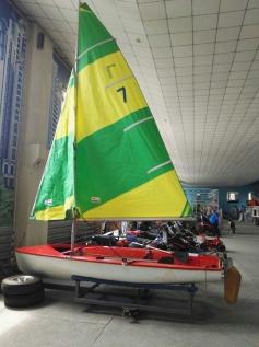 Лодка парусная Швертбот 420